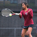 Sophomore Chelsea Motie was successful at No. 1 doubles and No. 3 singles against Oberlin College.