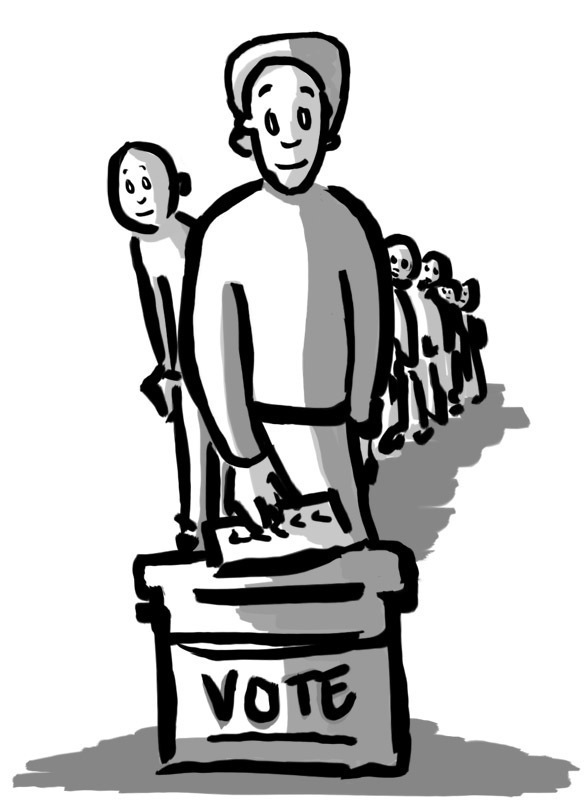 Economy must be top issue for young voters (credit: Adelaide Cole/Art Editor)