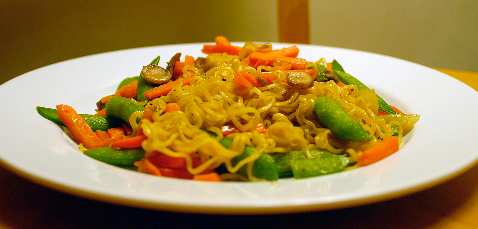 Stir fry is a flexible dish that can be made with a large variety of vegetables or proteins.  (credit: Anna Walsh/Associate Editor)