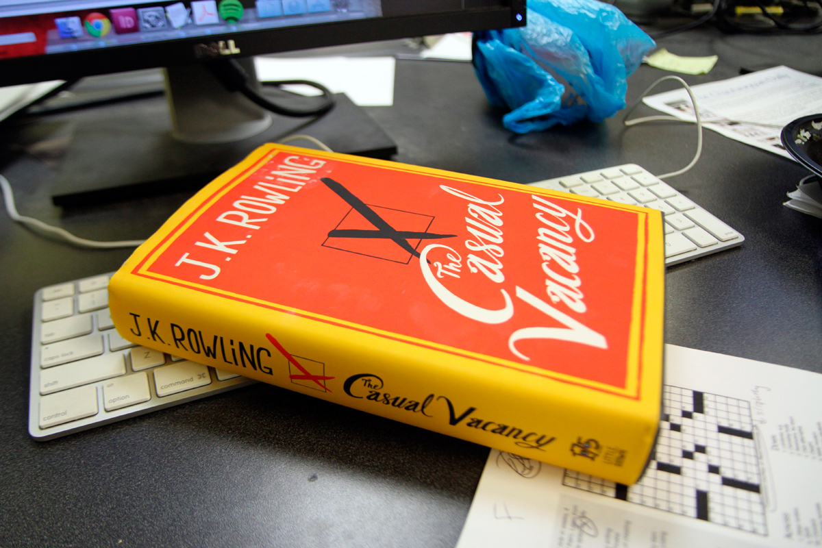 While it deviates sharply from J.K. Rowling's beloved Harry Potter series, The Casual Vacancy is a powerful and rewarding read. (credit: Jonathan Carreon/Photo Editor)