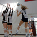 No. 13 sophomore right side hitter Ali Celentano leads the Tartans with an average of three kills per game.
