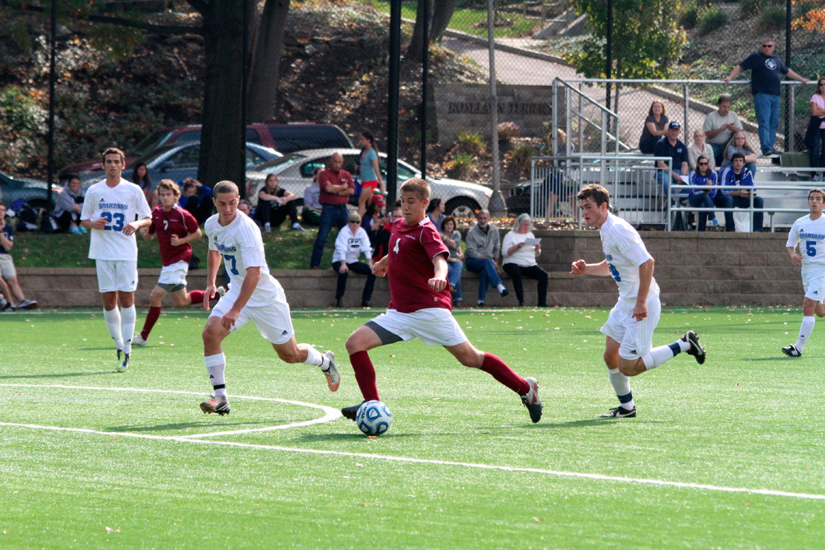 No. 4 junior midfielder Chris Wysocki has scored three goals and accumulated two assists this season. (credit: Jonathan Carreon/Photo Editor)