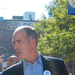 Senator Bob Casey (D-Pa.), right, marches in the Labor Day parade with national AFL-CIO secretary Richard Trumka, left, and United Steel Workers president Leo Gerard, center.