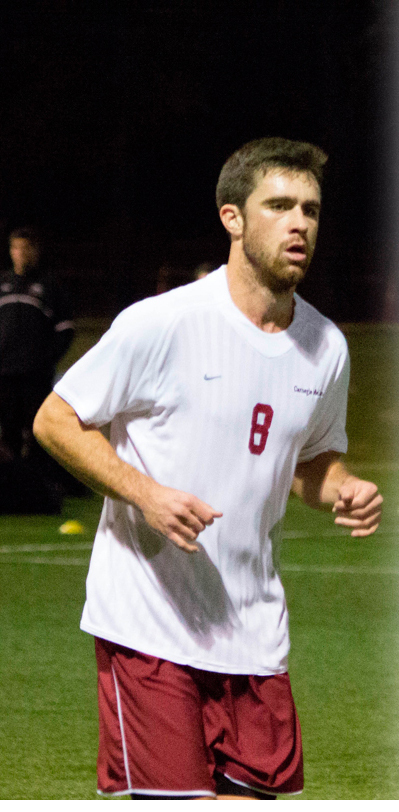 Alex Abedian is one of the key contributors to the men's soccer team that made it to the NCAA tournament. (credit: José Lopez/)