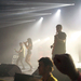 Sleigh Bells performed with stunning stage lights on Saturday night Wiegand Gymnasium.