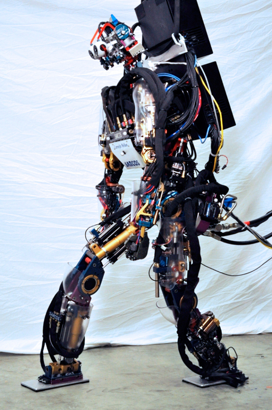 Two Carnegie Mellon DARPA challenge competitors will be creating software for Atlas, a humanoid robot developed by Boston Dynamics. (credit: Courtesy of Christopher Atkeson)