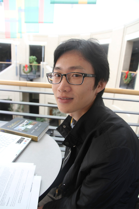 "Alan Liu Entertainment Industry Management Master's student  ""Turkey."" (credit: Jennifer Coloma/Operations Manager)"