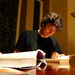 Nail Gaiman is the author of acclaimed fantasy novel _Stardust_ and two episodes of _Doctor Who_. The British writer made a special appearance at the Carnegie Music Hall in Oakland on Wednesday to the excitement of local fans.
