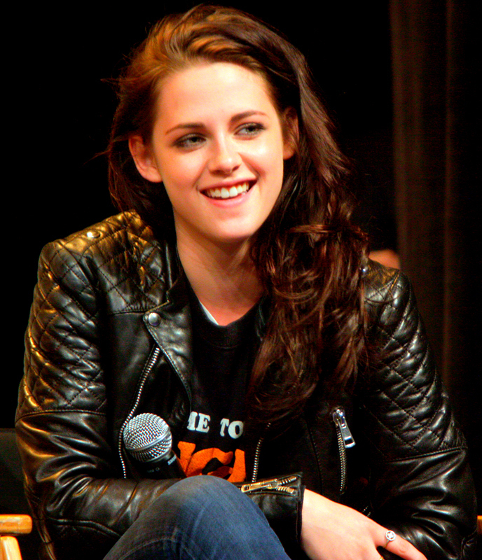 Kristen Stewart, who stars as Bella Swan in the Twilight saga, is forced to carry the movie in the last installment of the series.  (credit: Courtesy of Gage Skidmore via Wikimedia Commons)