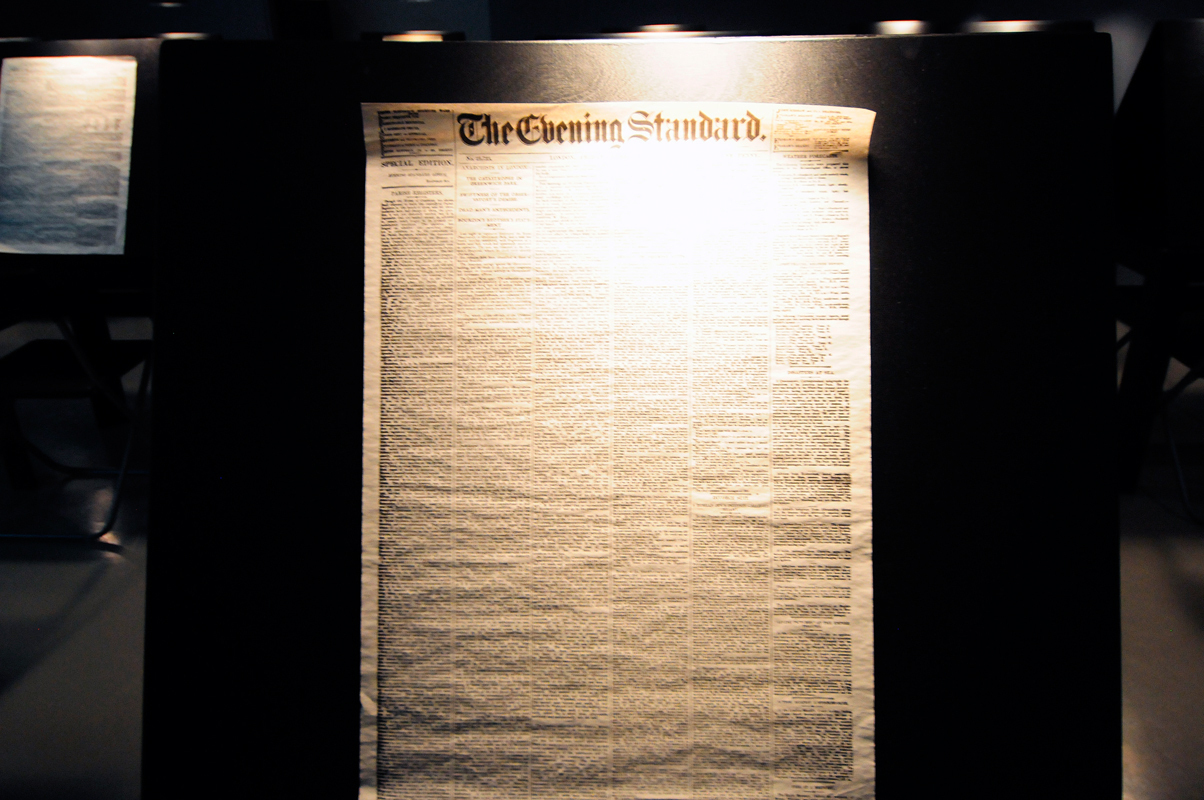 Rod Dickinson and Tom McCarthy's piece 