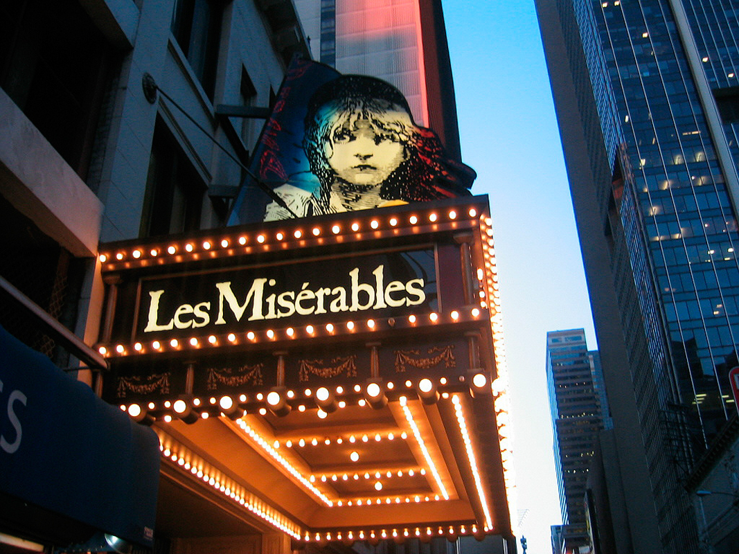 PNC Broadway Across America presented Les Misérables at the Benedum Center. (credit: Courtesy of Wikimedia Commons)