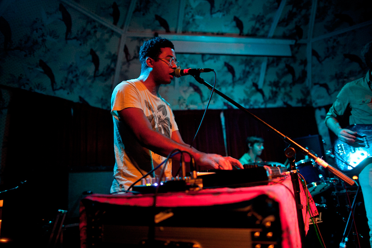 Toro y Moi combines a variety of musical influences in Anything In Return, his most recent album. (credit: Courtesy of blikeng via Flickr)