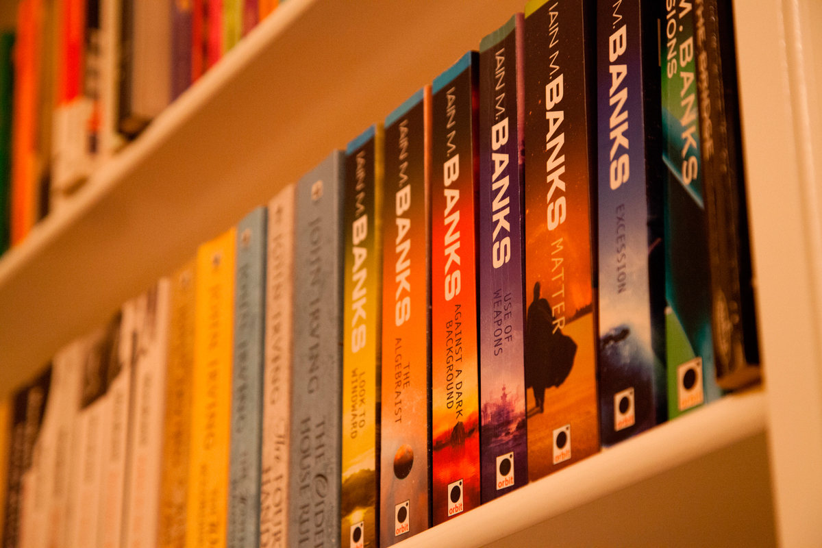 Iain M. Banks' new sci-fi novel, The Hydrogen Sonata, might lose new readers with its plethora of references to previous books in the series. (credit: Courtesy of Tom Page via Flickr)