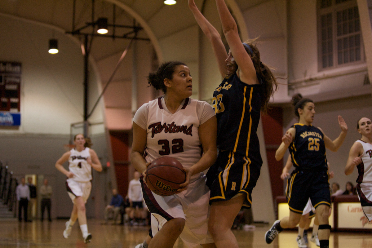 Junior guard Jacquie Shaw has helped lead the Tartans to their best record in 10 years. (credit: File photo courtesy of Jennifer Coloma)