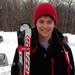 First-year Shepard Emerson is one of the Tartans' top male skiers.