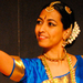 First-year MBA student Chinmayi Bhavanishankar performed and spoke of her passion for Bharatanatyam dance at Sunday's TEDx event.