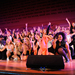 Members of Delta Gamma and Pi Kappa Alpha presented their highly professional rendition of Rock of Ages, which won first place in the doubles division.
