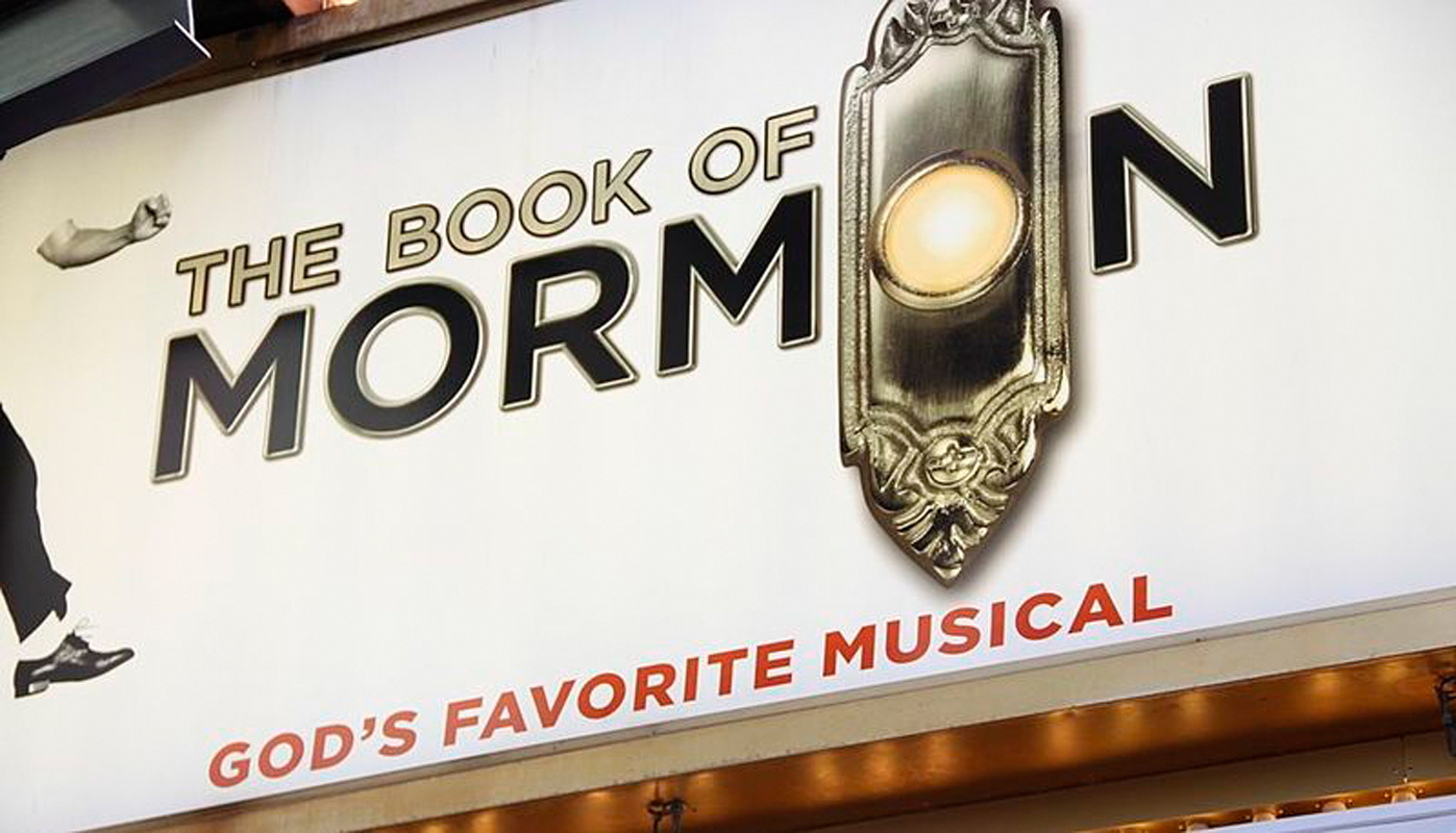 Written by Trey Parker and Matt Stone, the creators of South Park, the highly offensive but hilarious musical The Book of Mormon won nine Tony Awards last year. (credit: Courtesy of Wikimedia Commons)
