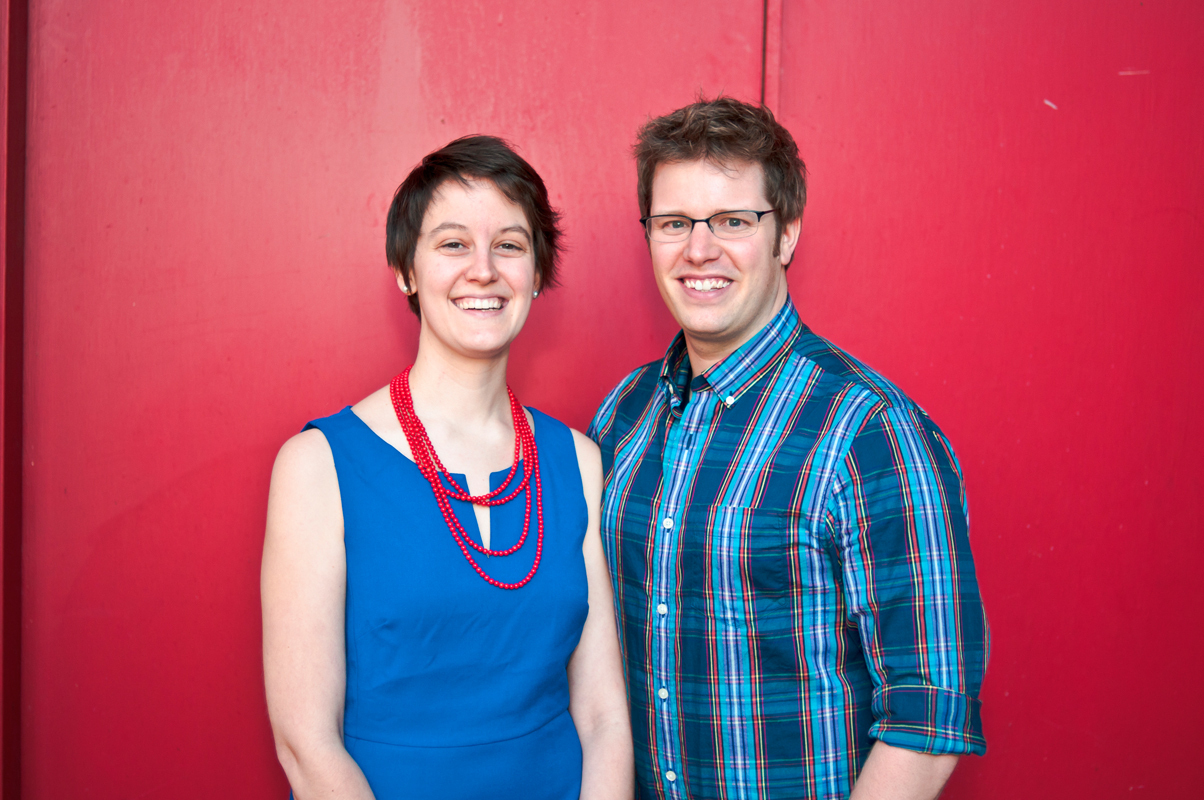 Carnegie Mellon alumna Diane Loviglio (left) and her husband Gil Tolle, also a graduate of Carnegie Mellon, founded sharesomestyle.com in November. (credit: Courtesy of Diane Loviglio)
