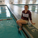 Master's student Alice Tripp has been a member of the women's water polo team since it was founded in 2009.