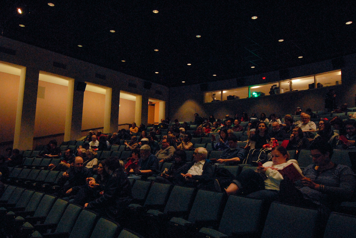 A diverse audience filled McConomy Auditorium for the final screening of the Carnegie Mellon International Film Festival. (credit: Kate Groschner/Photo Editor)