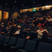 A diverse audience filled McConomy Auditorium for the final screening of the Carnegie Mellon International Film Festival.