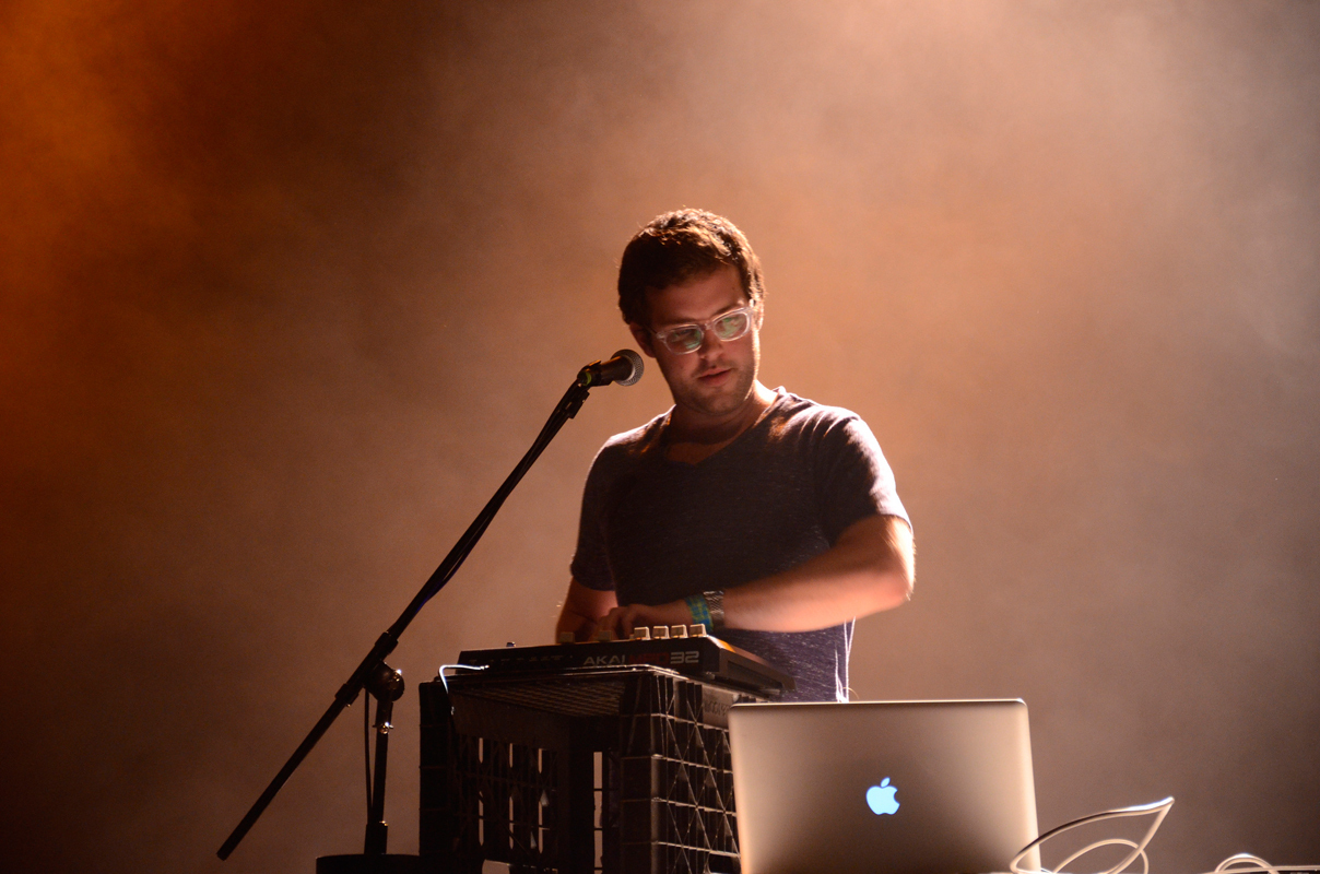 Electronic musician Will Wiesenfeld, better known by his stage name Baths, somehow makes macabre lyrics sound beautiful in his new release. (credit: Courtesy of calebdrostphoto via Flickr)