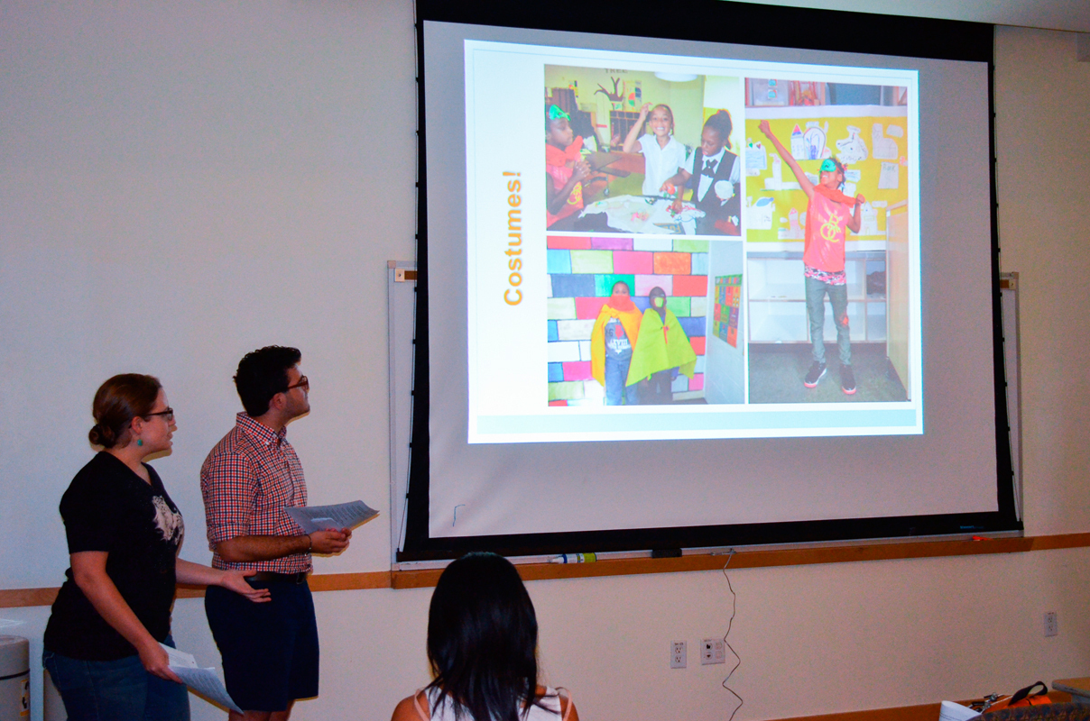 The Tartans Abroad Showcase featured students who had volunteered in Nicaragua as part of Juntos.  (credit: Kate Groschner/Photo Editor)