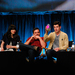 New Girl 's season three premiere presents some challenges for many of the returning characters. Schmidt (Max Greenfield, center) must choose between Cece (Hannah Simone, far right) and a high school girlfriend (Merritt Wever). Meanwhile, the relationship between protagonist Jess (Zooey Deschanel, far left) and her roommate Nick (Jake Johnson, second from left) will continue to evolve in the new season.