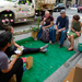 Friday was PARK(ing) Day, a worldwide event for which volunteers turned metered parking spaces into small parks.