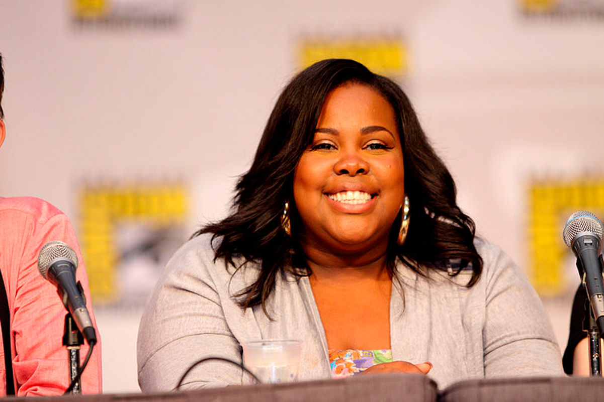 Glee star Amber Riley captivated audiences with her skillful performance and positive attitude on ABC's Dancing with the Stars. (credit: Courtesy of Wikimedia Commons)