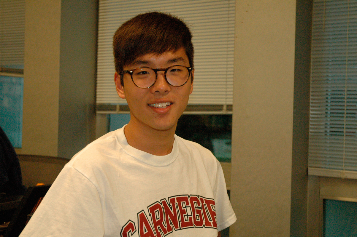 """Peter Wan Economics First-year  """"What's going to happen next?"""" (credit: Justin McGown/Online Editor)"""