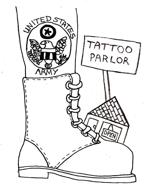 Army's tattoo regulations suppress individuality - The Tartan
