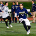 The Carnegie Mellon men's ultimate frisbee team, Mr. Yuk, hosted an exhibition game between the University of Pittsburgh and Penn State University on Friday night in Gesling Stadium.