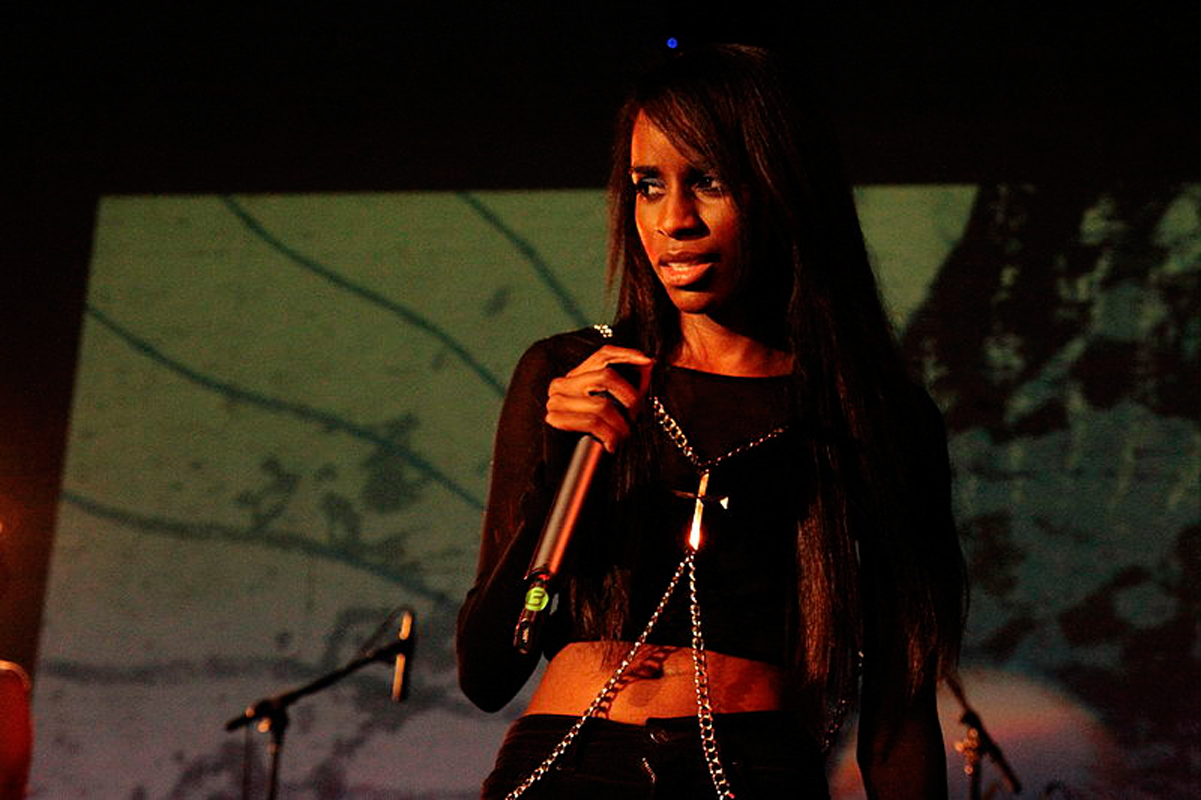 The _30 Gold_ project shows Angel Haze's 