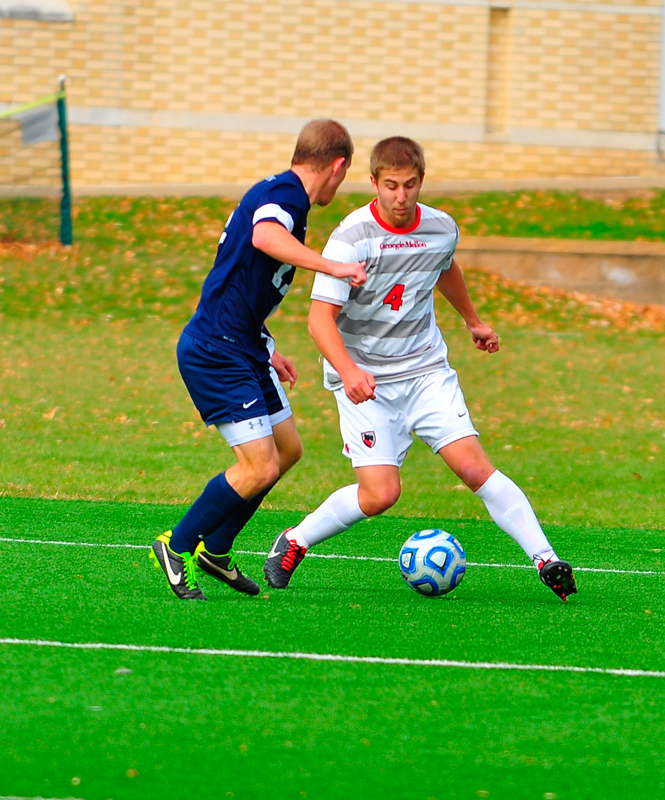 Senior forward Chris Wysocki scored two goals against Virginia Wesleyan College on Saturday and had three shots against Montclair State. (credit: Staff Photographer)