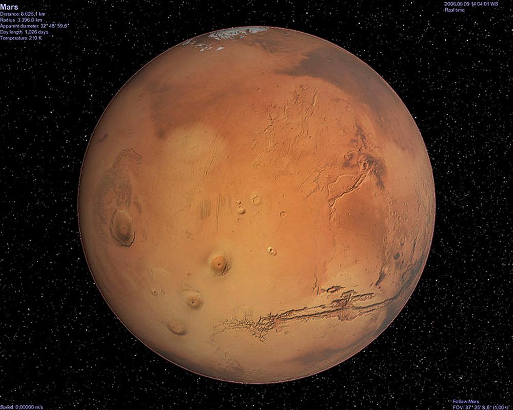 planet mars august 27 2007 - photo #48