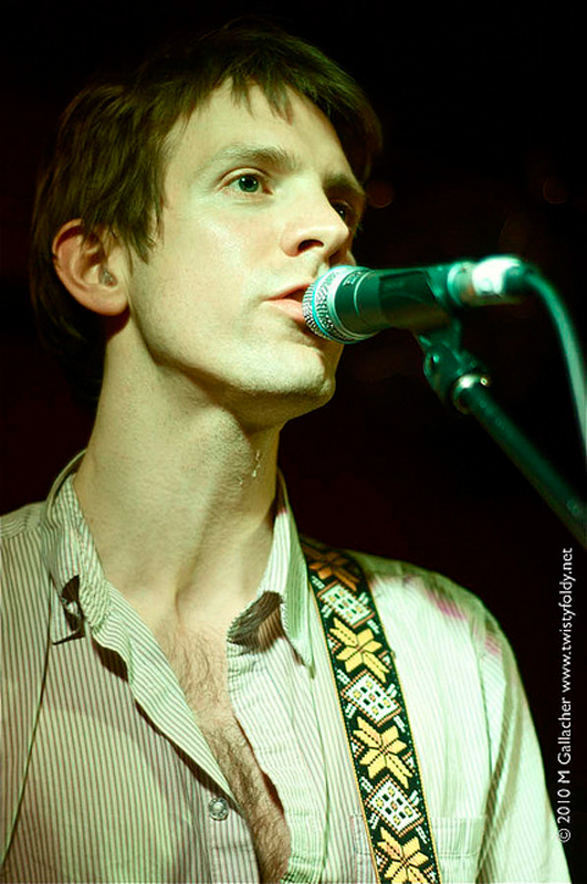 Lead singer Jonathan Meiburg lends a beautiful voice to an otherwise unremarkable release. (credit: Courtesy of Michael Gallacher via Flickr)