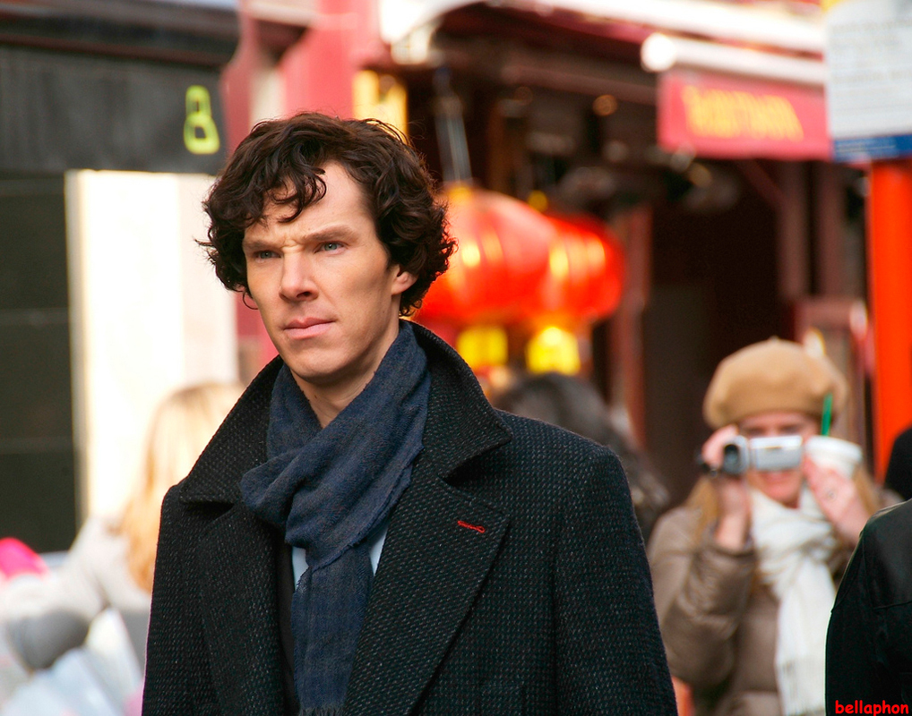 Benedict Cumberbatch will return as Sherlock in the BBC's adaptation of the classic book series. (credit: Courtesy of Wikimedia Commons)
