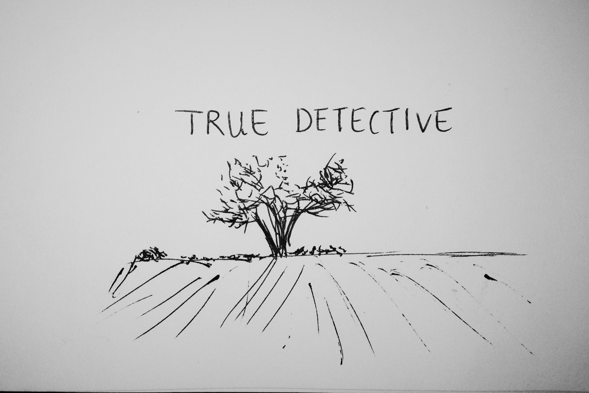 The new anthology crime series True Detective — which airs Sunday nights at 9 p.m. —­ stars Matthew McConaughey and Woody Harrelson as cops trying to track down a serial killer in Louisiana in 1995 as well as aiding a similar investigation in 2012. (credit: Michelle  Wan /Art Editor)