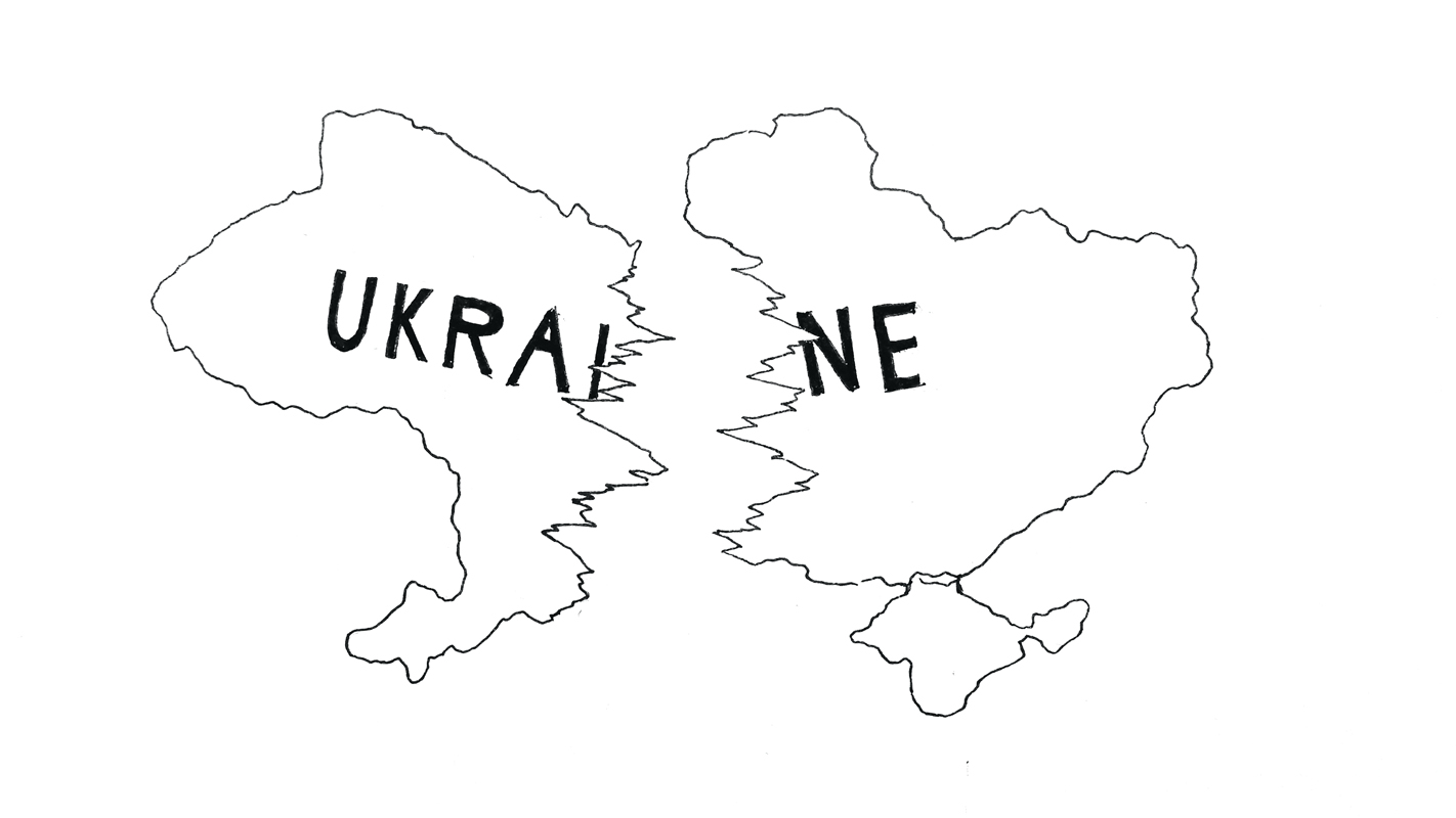 Ukraine must join EU to ease unrest (credit: Eunice Oh/)
