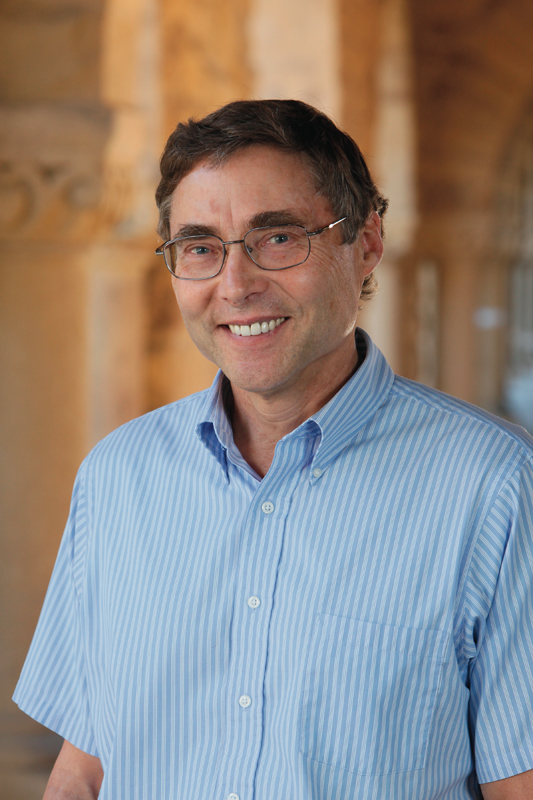 Nobel Laureate of Physics Carl Wieman gave the inaugural Simon Initiative lecture on science education. (credit: Carl Wieman)