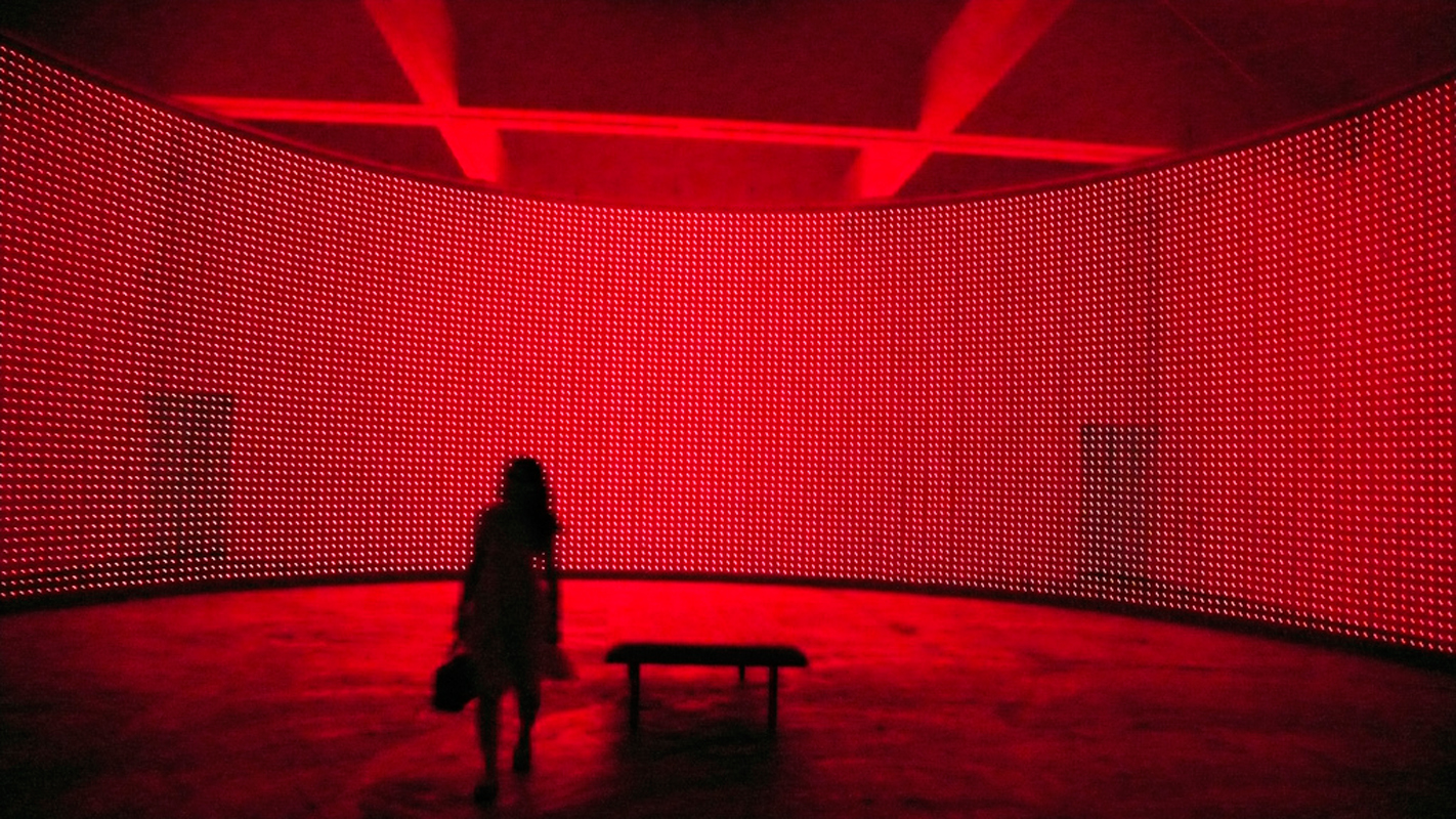 Erwin Redl has been working with LED lighting to create his innovative artwork for nearly 20 years. (credit: Courtesy of Eli Carrico via Flickr)