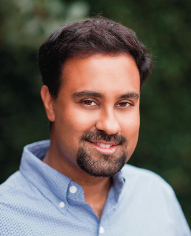 Assistant professor of applied physics Surya Ganguli spoke at CMU on a theory of neural dimensionality. (credit: Surya Ganguli)