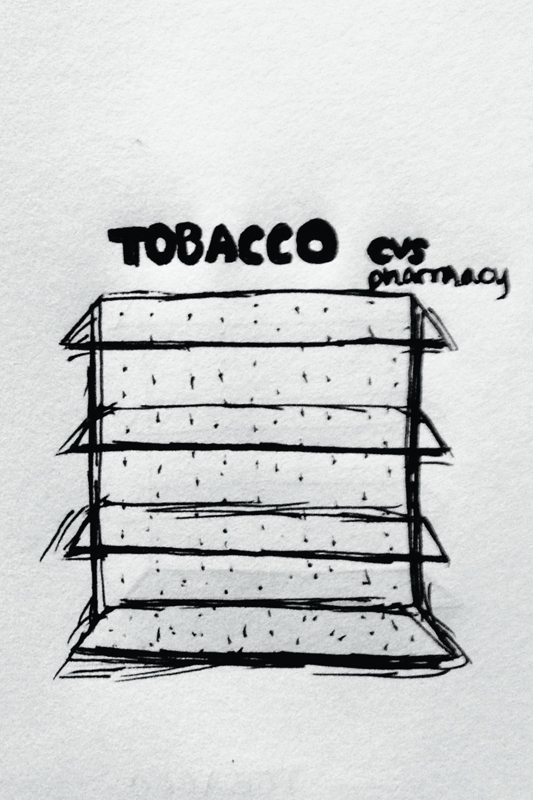 CVS takes tobacco off shelves in worthy move (credit: Michelle  Wan /Art Editor)