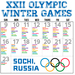 Keep track of all of the Olympic events this winter.