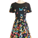 "The ""Flutter to the Fete"" dress, which sells for $94.99, is an example of a kind of dress found at ModCloth."