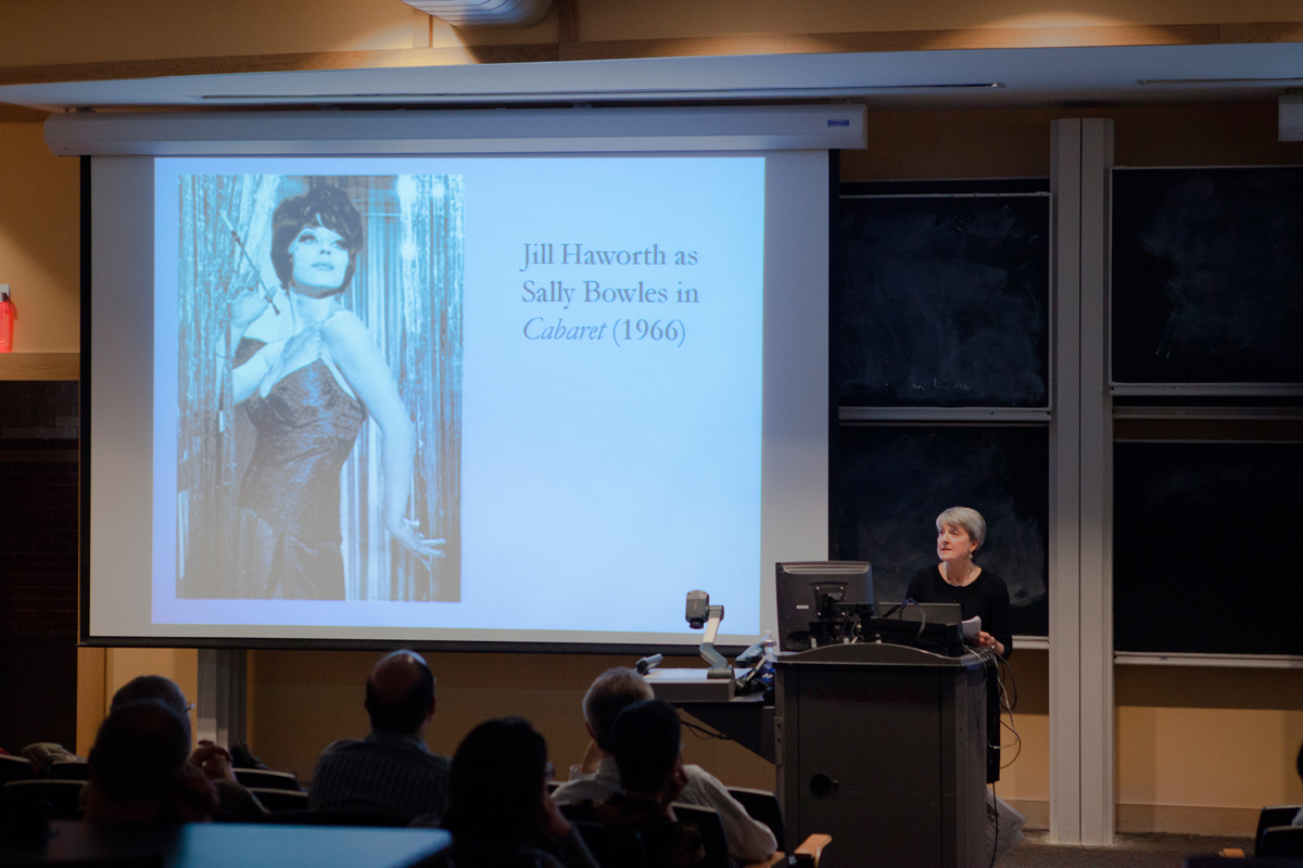 Princeton professor Stacy Wolf spoke on Thursday about gender roles in Broadway musicals (credit: Jonathan Leung/Photo Editor)