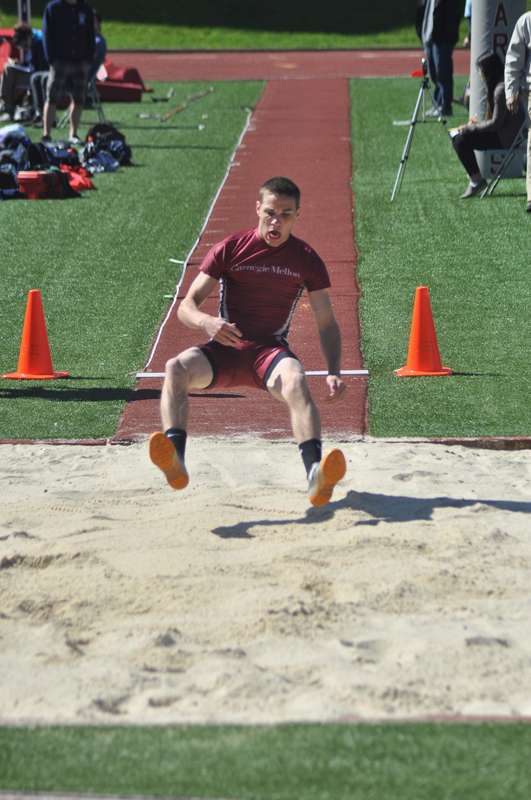 The outdoor track and field season started strong this weekend. (credit: Alan Vangpat/Layout Staff)