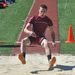 The outdoor track and field season started strong this weekend.